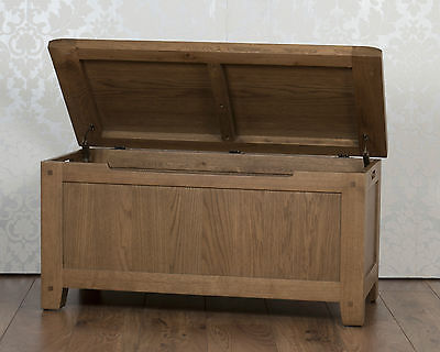 Miraculous Solid Oak Storage Ottoman Blanket Box In Chunky Dorset Country Free Delivery Alphanode Cool Chair Designs And Ideas Alphanodeonline